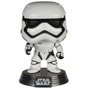 First Order Stormtrooper: Funko POP! x Star Wars Vinyl Figure