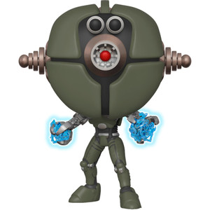 Assaultron [Glow-in-Dark] (2018 Fall Con Exclusive): Funko POP! Games x Fallout Vinyl Figure [#386 / 33996]