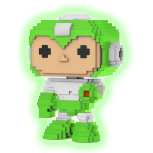 Gyro Attack [Glow-in-Dark] (2018 Canadian Con Exclusive): Funko POP! 8-bit x Mega Man Vinyl Figure [#013 / 32714]