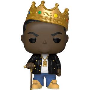 Notorious B.I.G. w/ Crown: Funko POP! Rocks x Notorious B.I.G. Vinyl Figure [#077 / 31550]