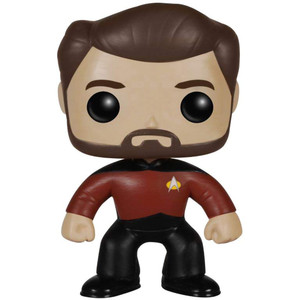 Will Riker: Funko POP! TV x Star Trek The Next Generation Vinyl Figure [#189 / 04904]