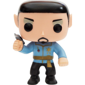 Mirror Universe Spock (PX Exclusive): Funko POP! TV x Star Trek Vinyl Figure [#082 / 04699]