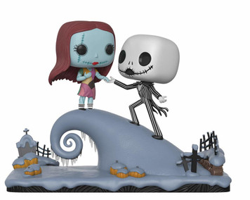 Jack Skellington & Sally Under the Moonlight: Funko POP! Movie Moments x The Nightmares Before Christmas Vinyl Figure [#458 / 32834]