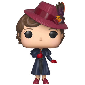 Mary Poppins with Umbrella (Hot Topic Exclusive): Funko POP! Disney x Mary Poppins Vinyl Figure [#470 / 33904]