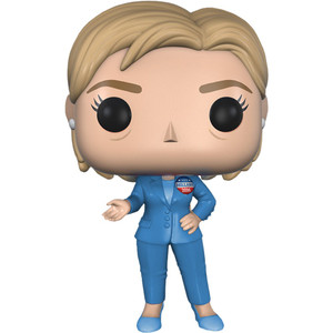 Hillary Clinton: Funko POP! The Vote - Road to the White House Vinyl Figure [#001 / 10532]