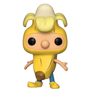 Banana Arnold (GameStop Exclusive): Funko POP! Animation x Nickelodeon Hey Arnold Vinyl Figure [#520 / 35601]