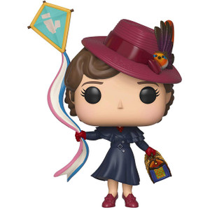 Mary Poppins with Kite: Funko POP! Disney x Mary Poppins Vinyl Figure [#468 / 33906]