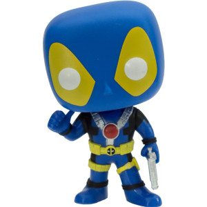 Deadpool [Blue Suit] (f.y.e. Exclusive): Funko POP! Marvel Vinyl Figure [#112 / 07488]