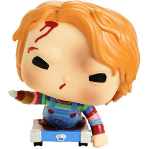 Chucky on Cart (Hot Topic Edition): Funko POP! Movies x Child's Play Vinyl Figure [#658 / 35039]
