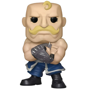Alex Armstrong (GameStop Exclusive): Funko POP! Animation x Fullmetal Alchemist Vinyl Figure [#433 / 33216]