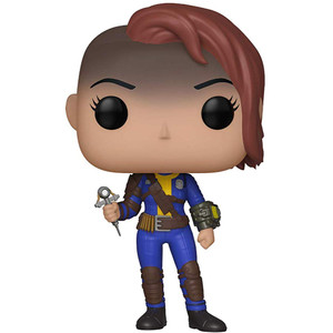 Vault Dweller [Female]: Funko POP! Games x Fallout Vinyl Figure [#372 / 33975]