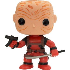 Unmasked Deadpool [Red Suit] (PX Exclusive): Funko POP! Marvel x Deadpool Vinyl Figure [#029 / 03259]