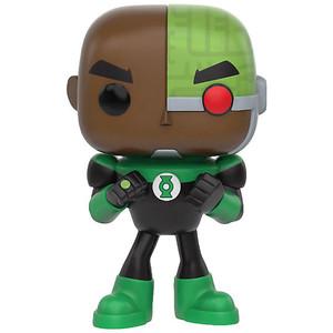 "Cyborg as Green Lantern (Toys ""R"" Us Exclusive): Funko POP! TV x Teen Titans Go Vinyl Figure [#338 / 10273]"