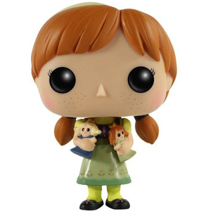 Young Anna: Funko POP! Disney x Frozen Vinyl Figure [#117 / 04831]