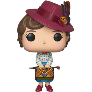 Mary Poppins with Bag: Funko POP! Disney x Mary Poppins Vinyl Figure [#467 / 33907]