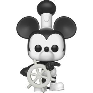 Steamboat Willie Mickey: Funko POP! Disney x Mickey's 90th Anniversary Vinyl Figure [#425 / 32182]