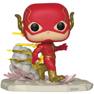 The Flash (GameStop Exclusive Deluxe DC Collection by Jim Lee): Funko POP! Heroes x The Flash Vinyl Figure [#268 / 36226]