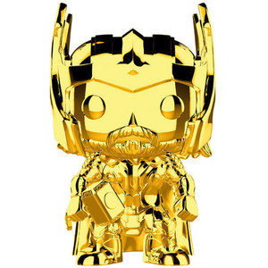 Thor [Chrome Color]: Funko POP! Marvel x Marvel Stud10s - The First Ten Years Vinyl Figure [#381 / 33518]