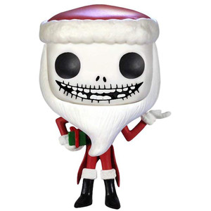 Santa Jack: Funko POP! x The Nightmare Before Christmas Vinyl Figure [#072 / 03289]