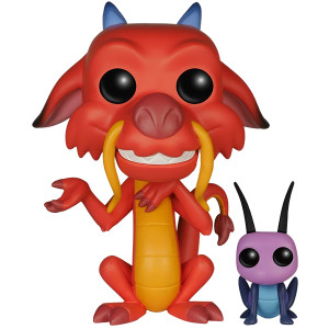 Mushu & Cricket: Funko POP! Disney x Disney - Mulan Vinyl Figure [#167 / 05898]