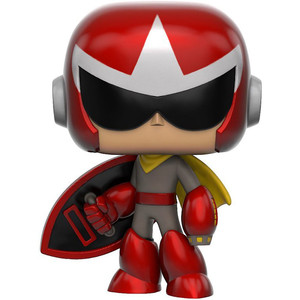 Proto Man: Funko POP! Games x Mega Man Vinyl Figure [#104 / 10348]