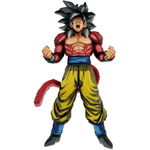 "Super Saiyan 4 Son Goku: ~13"" DragonBall GT x Banpresto  ~ Manga Dimensions Super Master Stars Piece Statue Figurine (357424)"