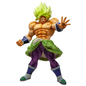 "Super Saiyan Broly [Full Power]: ~11.8"" DragonBall Super - Broly x Bandai Spirits King Clustar Statue Figurine (35705)"
