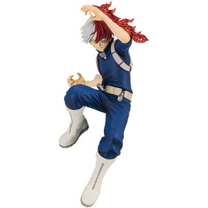 "Shoto Todoroki: ~5.9"" Banpresto My Hero Academia ~The Amazing Heroes~ Statue Figurine Vol. 2 (39042)"