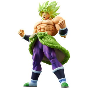 "Super Saiyan Broly [Full Power]: ~9.1"" Banpresto DragonBall Super - Broly ~Cyokoku Buyuden~ Statue Figurine (39034)"