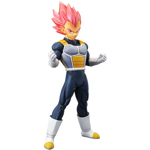 "Super Saiyan God Vegeta: ~8.7"" Banpresto DragonBall Super - Broly ~Cyokoku Buyuden~ Statue Figurine (39033)"