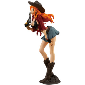 "Nami: ~7.5"" Banpresto One Piece ~Treasure Cruise World Journey~ Statue Figurine (39039)"