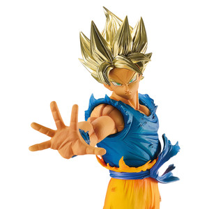 "Super Saiyan Son Goku: ~7.9"" DragonBall Z x Banpresto ~Blood of Saiyans~ Statue Figurine (38747)"