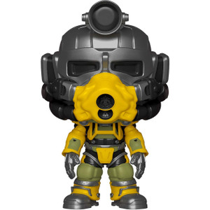 Excavator Armor: Funko POP! Games x Fallout 76 Vinyl Figure [#482 / 39038]