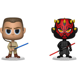 Darth Maul + Obi-Wan Kenobi: Funko Vynl. x Star Wars Vinyl Figure Set [31621]