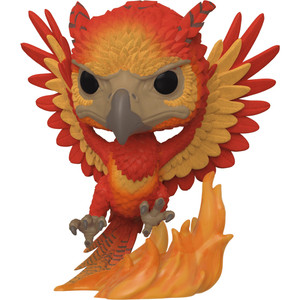 Fawkes [Flocked] (2019 Summer Con Exclusive): Funko POP! x Harry Potter Vinyl Figure [#084 / 41534]
