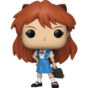Asuka (2019 Summer Con Exclusive): Funko POP! Animation x Neon Genesis Evangelion Vinyl Figure [#635 / 40213]