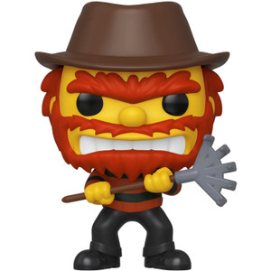 Evil Groundskeeper Willie (2019 Fall Con Exclusive): Funko POP! TV x The Simpsons - Treehouse of Terror Vinyl Figure [#824 / 39726]
