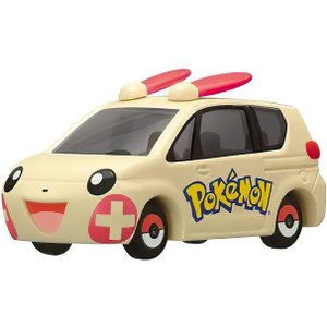 Plusle: Takara Tomy Pokemon  Tomica Die Cast Mini Toy Vehicle (P-02 / 73594)