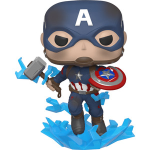 Captain America: Funko POP! Marvel x Avengers - Endgame Vinyl Figure [#573 / 45137]