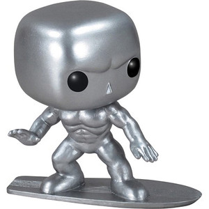 Silver Surfer: Funko POP! Marvel x X-Men Vinyl Figure [#019 / 03051]