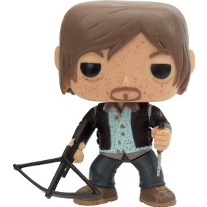Biker Daryl (PX Exclusive): Funko POP! TV x Walking Dead Vinyl Figure [#096 / 03706]