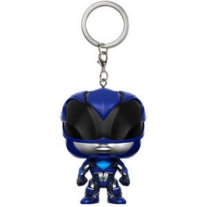 Blue Ranger: Funko Pocket POP! x Power Rangers Mini-Figural Keychain