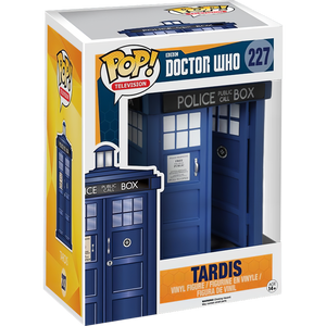 Tardis: Funko Deluxe POP! x Doctor Who Vinyl Figure [#227 / 05286]