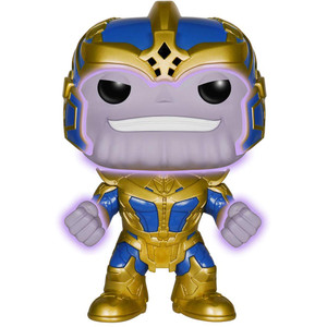 Thanos (EE Exclusive): Funko Deluxe POP! x Guardians of the Galaxy Vinyl Figure [#078 / 05739]