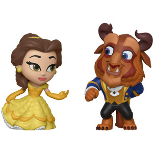 Beast & Belle: Funko Disney Princess Romance Series ~Beauty and the Beast~ Mini Vinyl Figure Set [36419]