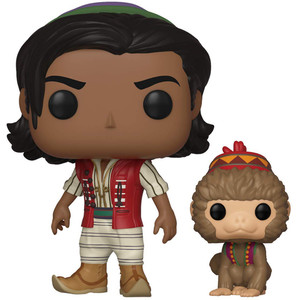 Aladdin of Agrabah with Abu: Funko POP! Disney x Aladdin Vinyl Figure [#538 / 37022]
