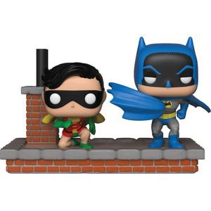 Batman & Robin [New Look Batman 1964]: Funko POP! Comic Moments x DC Universe Vinyl Figure [#281 / 37256]
