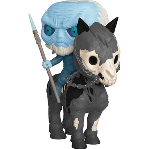 Mounted White Walker w/ Icy Viserion: POP! Rides x Game of Thrones Vinyl Figure [#060 / 37669]