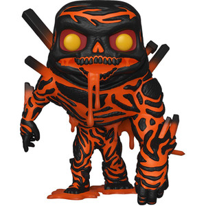 Molten Man: Funko POP! Marvel x Spider-Man - Far From Home Vinyl Figure [#474 / 39209]