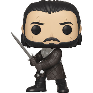 Jon Snow: Funko POP! x Game of Thrones Vinyl Figure [#080 / 44446]